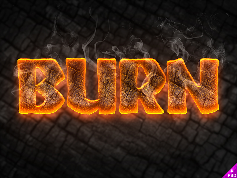 We have a HOT new freebie waiting for you! This text style will light up your designs and give them the punch you were searching for. No matter what you intend to use it for, this Burn Text Style .psd resource is perfect for your projects. Although mostly dark, this freebie really stands out.