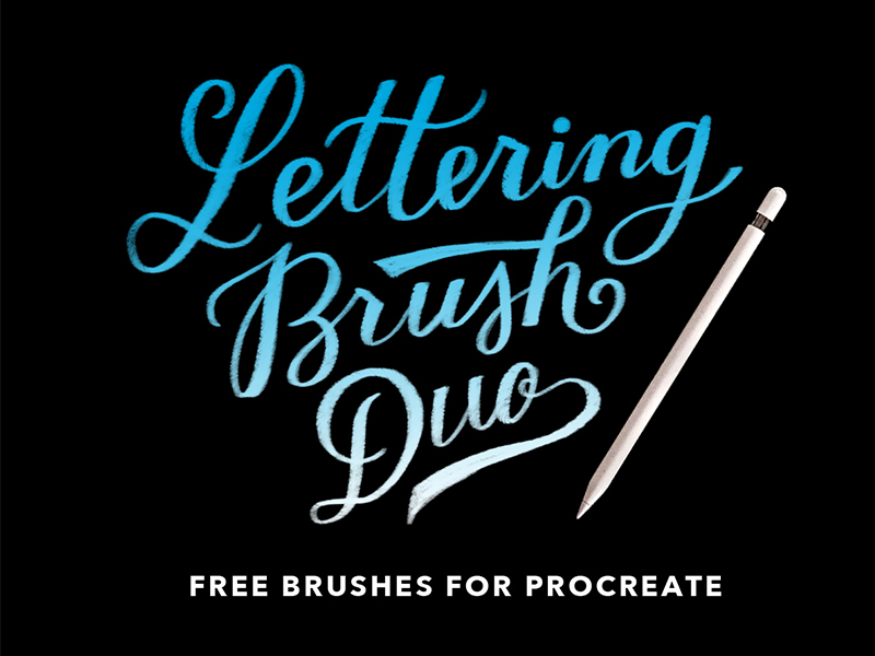 These brushes have been carefully fine-tuned to look and feel just like your favorite analog tools. The two brushes included are textured & acrylic. The free brushes are designed specifically for the Procreate App 4 on the Apple iPad.