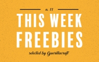Freebies for Graphic Designers and Illustrators. Free Design Resources for Adobe Photoshop and Adobe Illustrator. Free Retro Display Fonts